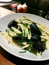 Capunti Pasta, Prawns, Mussels and Samphire, Hadskis, Belfast