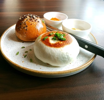 Fried and Steamed Mantou, Bastian, Bandra