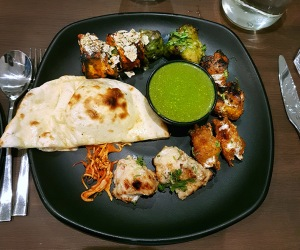 Kebab Platter, Charcoal Kitchen, Colaba