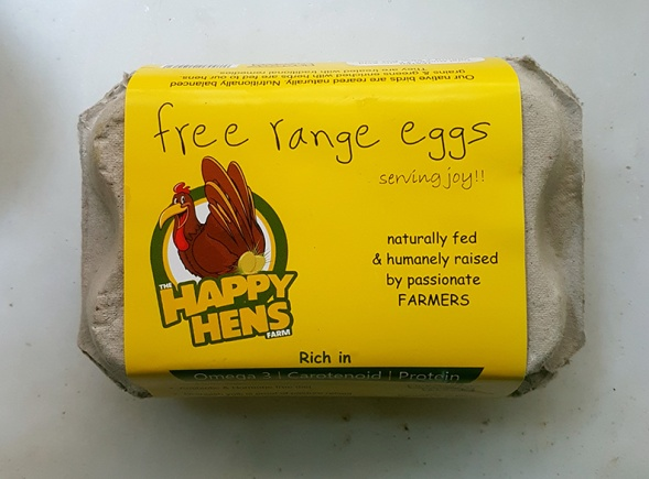 Happy Hens Packaging Cover
