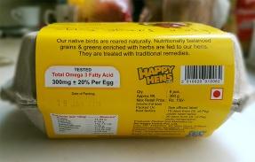 Happy Hens Packaging Side 1