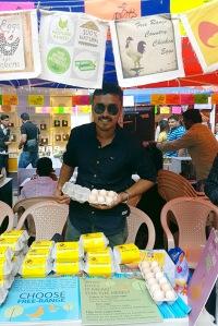 Manjunath Marappan, The Happy Hens Farm