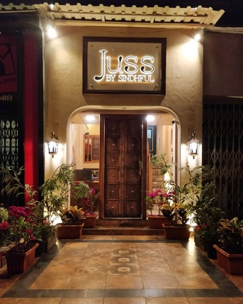Outside, Juss by Sindhful, Khar, Mumbai