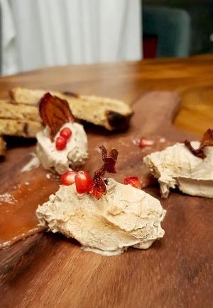 Chicken liver parfait, 266 Wine Room and Bar, Bandra