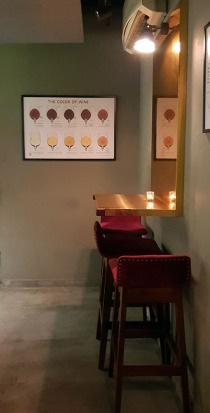 Interiors, 266 Wine Room and Bar, Bandra