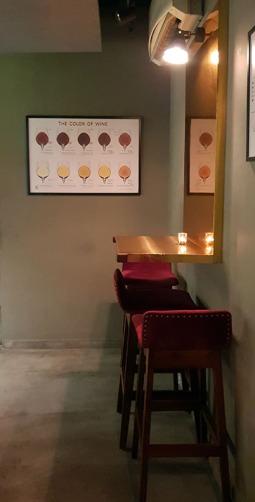 Interiors, 266 Wine Room and Bar, Bandra