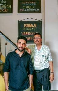 Farookh and Shapur Meherbani, Roshan Bakery and Restaurant, Dongri