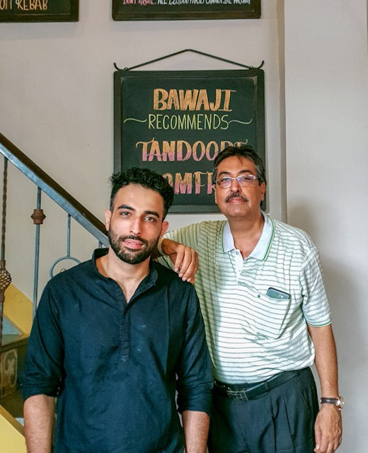 Farookh and Shapur Meherbani, Roshan Bakery and Restaurant, Dongri
