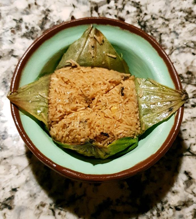 Lotus Leaf Rice, Open China, Juhu