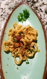 Salt and Pepper Squid, Open China, Juhu