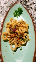 Salt and Pepper Squid, Open China, Juhu