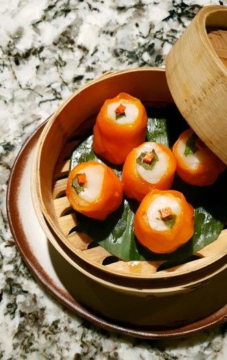 Scallop and Chicken Sui Mai, Open China, Juhu