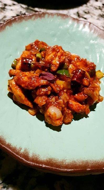 Szechwan Chicken, Open China, Juhu