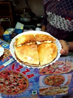 Mushroom Ulta Pizza, Opera House, Opera House street food