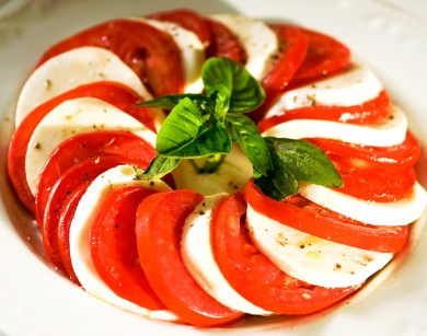 Caprese Salad at Don Giovanni